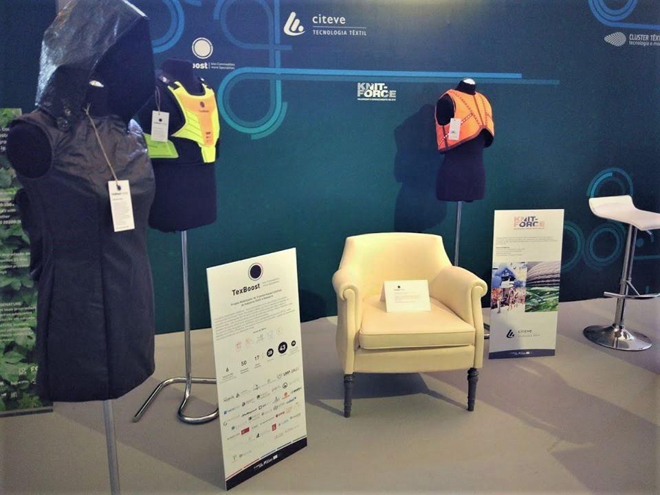 TexBoost-Os primeiros protótipos em exposição em Lisboa e no Porto