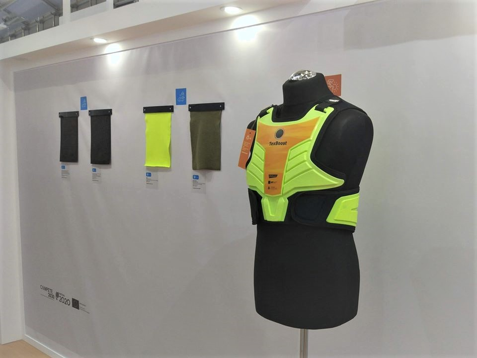 TexBoost-Techtextil and Outdoor, new stops for TexBoost